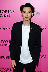 Wallace Chung attending the Pink Carpet prior to the Victoria's Secret Fashion Show at the Mercedes-Benz Arena Shanghai in Shanghai, China.