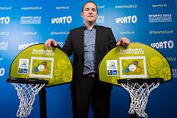 Matej Avanzo during sports marketing and sponsorship conference Sporto 2012, on November 27, 2012 in Hotel Slovenija, Congress centre, Portoroz / Portorose, Slovenia. (Photo By Vid Ponikvar / Sportida.com)