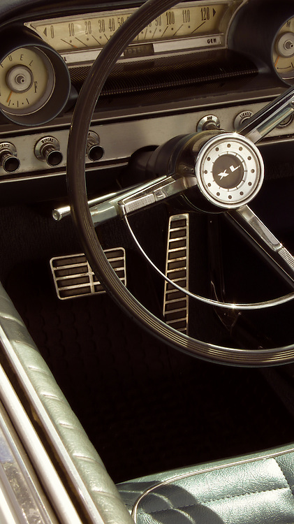 Interior 1964 Ford Galaxie 500 XL GF.