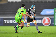 Ospreys' Justin Tipuric in action during todays match<br /> <br /> Photographer Craig Thomas/Replay Images<br /> <br /> EPCR Champions Cup Round 4 - Ospreys v Northampton Saints - Sunday 17th December 2017 - Parc y Scarlets - Llanelli<br /> <br /> World Copyright © 2017 Replay Images. All rights reserved. info@replayimages.co.uk - www.replayimages.co.uk