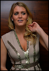 Earl Spencer's daughter Lady Kitty Spencer the Niece of Princess Diana attends Give Us Time event in London, United Kingdom. Wednesday, 27th November 2013. Give us Time is a charity set up for service personnel to have holidays with their families after tours in War zones. Picture by Andrew Parsons / i-Images