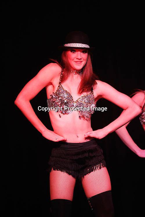The Candy Lane Dancers perform. Junior Warriors Awards Evening, Mt Smart Stadium, Penrose, Tuesday 18th September 2012. Photo: Shane Wenzlick / Photosport.co.nz