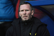 Oxford United manager Michael Appleton during the Sky Bet League 2 match between Oxford United and Carlisle United at the Kassam Stadium, Oxford, England on 12 December 2015. Photo by Alan Franklin.