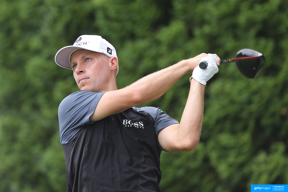 Ben Crane, USA, in action during the first round of the Travelers Championship at the TPC River Highlands, Cromwell, Connecticut, USA. 19th June 2014. Photo Tim Clayton