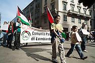 Milano, 25 aprile 2008. Corteo per la Festa della Liberazione.