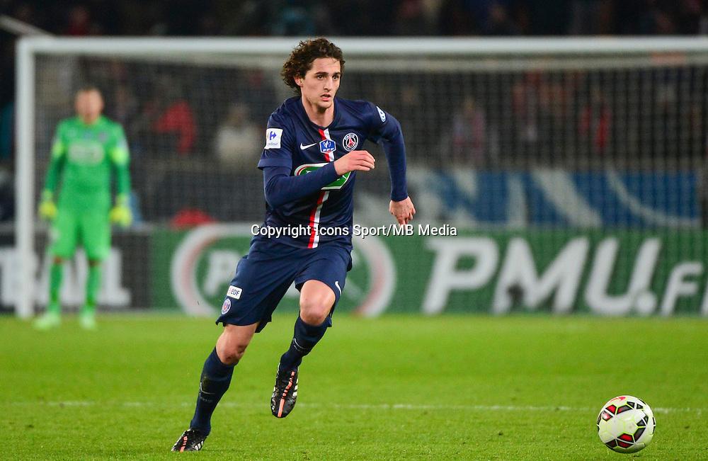 Adrien RABIOT - 21.01.2015 - Paris Saint Germain / Bordeaux - Coupe de France<br /> Photo : Dave Winter / Icon Sport