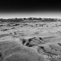 glaciation blackfeet reservation aerial photograph conservation photography - blackfeet oil