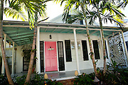 Traditional Key West style caribbean home Key West, Florida.