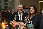 RIFAT OZBEK; GERALDINE HARMSWORTH, The London Library Annual  Life in Literature Award 2013 sponsored by Heywood Hill. The London Library Annual Literary dinner. London Library. St. james's Sq. London. 16 May 2013.