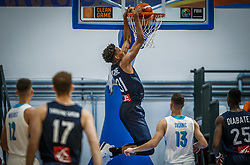 Carene  Maxime of France during basketball match between National teams of Slovenia and France in the Group Phase C of FIBA U18 European Championship 2019, on July 27, 2019 in Nea Ionia Hall, Volos, Greece. Photo by Vid Ponikvar / Sportida
