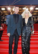 """16.MAY.2011. CANNES<br /> <br /> GAVIN ROSSDALE AND GWEN STEFANI ATTENDING THE PREMIERE OF """"THE TREE OF LIFE"""" AT THE 64TH CANNES INTERNATIONAL FILM FESTIVAL 2011 IN CANNES, FRANCE.<br /> <br /> BYLINE: EDBIMAGEARCHIVE.COM<br /> <br /> *THIS IMAGE IS STRICTLY FOR UK NEWSPAPERS AND MAGAZINES ONLY*<br /> *FOR WORLD WIDE SALES AND WEB USE PLEASE CONTACT EDBIMAGEARCHIVE - 0208 954 5968*"""