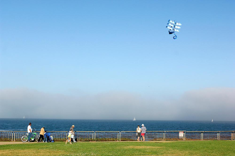 Kite, Lighthouse Field State Park, Santa Cruz, California, United States of America