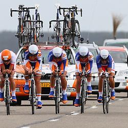 Brainwash Ladiestour Dronten Team Time Trail Rabobank womensteam; Mrianne Vos; Annemiek van Vleuten; Tatiana Antoshina; Pauline Ferrand Prevot; Iris Slappendel; Liesbet De Vocht