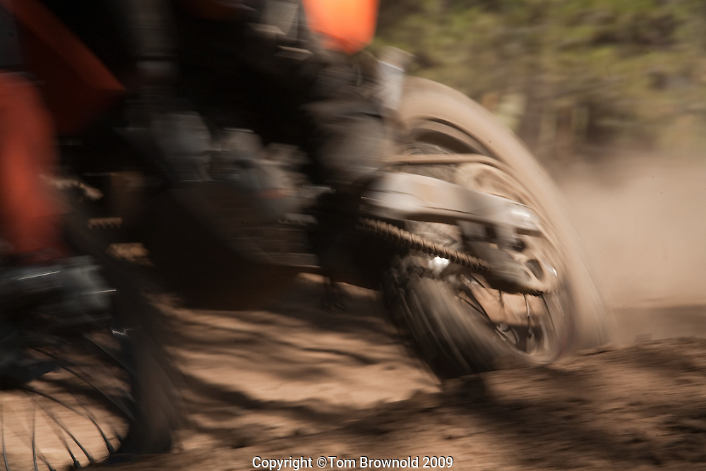 MX dirt biker