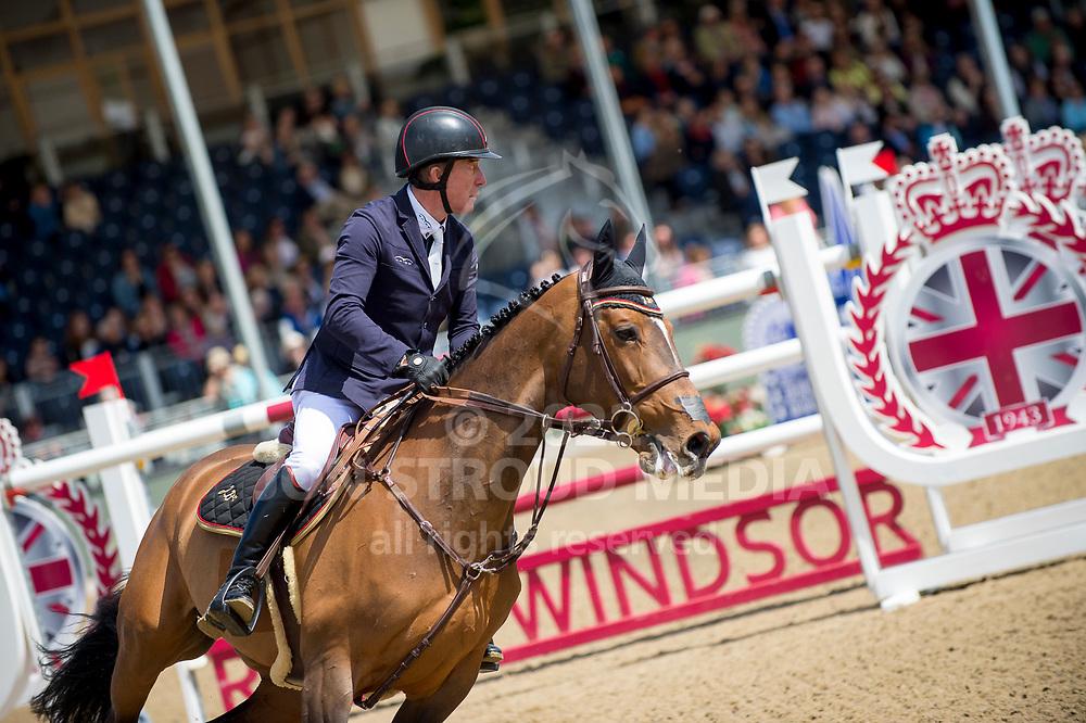 Michael Whitaker  (GBR) & Jb´S Hot Stuff - Rolex Grand Prix - CSI5* Jumping - Royal Windsor Horse Show - Home Park, Windsor, United Kingdom - 14 May 2017