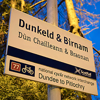 ScotRail's Dunkeld & Birnam railway station…01.12.16<br />Picture by Graeme Hart.<br />Copyright Perthshire Picture Agency<br />Tel: 01738 623350  Mobile: 07990 594431