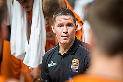 Jaka Lakovic - Head coach of Ratiopharm Ulm during the friendly match between KK Cedevita Olimpija Ljubljana and Ratiopharm Ulm on 11.9.2019 in Hala Tivoli, Ljubljana, Slovenia. Photo by Urban Meglič / Sportida
