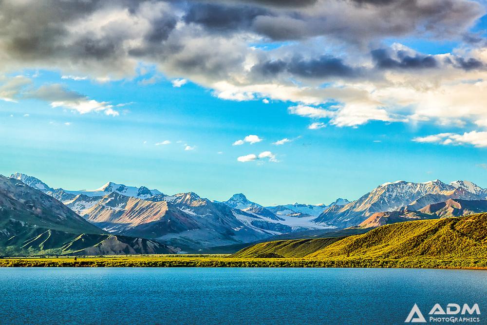 Gulkana Glacier and Summit Lake