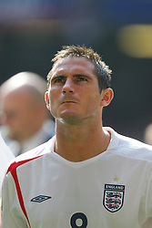 CARDIFF, WALES - SATURDAY, SEPTEMBER 3rd, 2005: England's Frank Lampard lines up before the World Cup Qualifier at the Millennium Stadium. (Pic by David Rawcliffe/Propaganda)