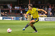George Friend during the Friendly match between York City and Middlesbrough at Bootham Crescent, York, England on 11 July 2015. Photo by Simon Davies.