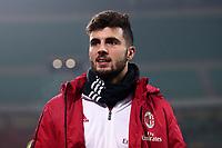 Milan-Lazio - Tim Cup 2017/18 - Semifinale di andata - Nella foto: Patrick Cutrone  - Milan