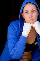 Portrait of Carrie Williams Nunez. Sacramento, CA<br />