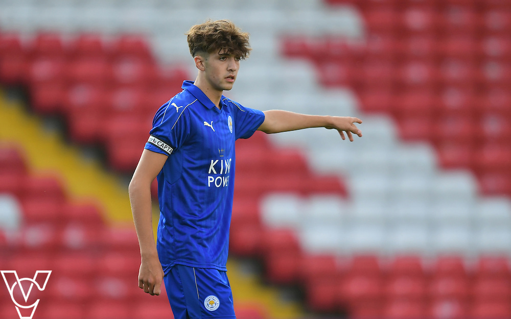 Leicester City&rsquo;s Ellis Chapman<br /> <br /> Lincoln City under 18s Vs Leicester City under 18s at Sincil Bank, Lincoln.<br /> <br /> Picture: Chris Vaughan/Chris Vaughan Photography<br /> <br /> Date: July 28, 2016