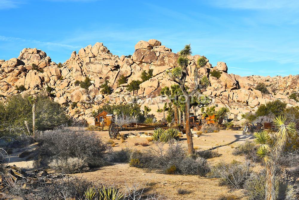 Out Buildings at Keys Ranch Joshua Tree National Park