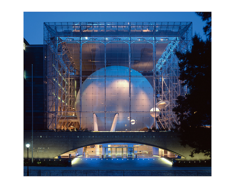 The Rose Center for Earth and Space at the American Museum of Natural History.