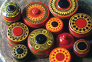 Lacquer bowls from Kandy