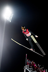 February 8, 2018 - Pyeongchang, SOUTH KOREA - 180208 Gregor Schlierenzauer of Austria competes during the Men's Normal Hill Individual Qualification Trial ahead of the 2018 Winter Olympics on February 8, 2018 in Pyeongchang..Photo: Jon Olav Nesvold / BILDBYRN / kod JE / 160146 (Credit Image: © Jon Olav Nesvold/Bildbyran via ZUMA Press)