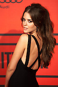 Clara Alonso during the photocall of Vanity Fair 5th Anniversary party In Madrid