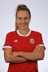 SLOUGH, ENGLAND - Monday, August 26, 2019: Wales' Josie Green. (Pic by David Rawcliffe/Propaganda)