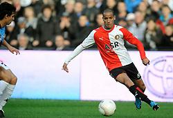 22-11-2009 VOETBAL: FEYENOORD - FC UTRECHT: ROTTERDAM<br /> FC Utrecht pakt punt in De Kuip / Karim El Ahmadi <br /> ©2009-WWW.FOTOHOOGENDOORN.NL