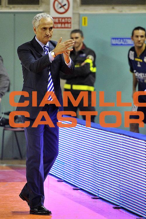 DESCRIZIONE : Udine Lega A2 2010-11 Snaidero Udine Sigma Barcellona<br /> GIOCATORE : Cesare Pancotto<br /> SQUADRA : Sigma Barcellona<br /> EVENTO : Campionato Lega A2 2010-2011<br /> GARA : Snaidero Udine vs Sigma Barcellona<br /> DATA : 16/01/2011<br /> CATEGORIA : Coach<br /> SPORT : Pallacanestro <br /> AUTORE : Agenzia Ciamillo-Castoria/S.Ferraro<br /> Galleria : Lega Basket A2 2010-2011 <br /> Fotonotizia : Udine Lega A2 2010-11 Snaidero Udine vs Sigma Barcellona<br /> Predefinita :