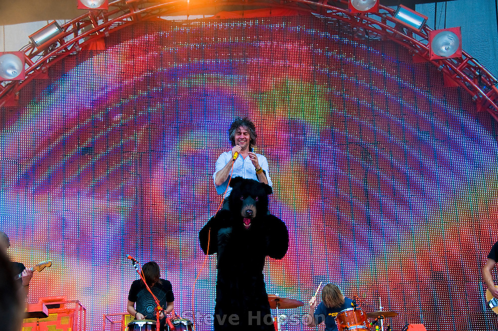 The Flaming Lips at theAustin City Limits Music Festival 2010, Austin Texas, October 10, 2010.  The Austin City Limits Music Festival is an annual three-day music festival in Austin, Texas's Zilker Park.