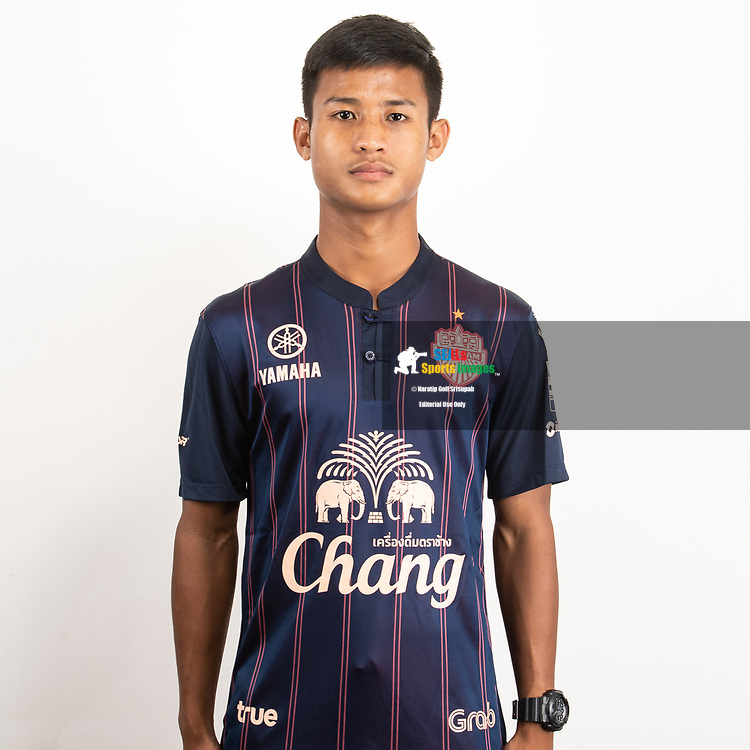 THAILAND - JUNE 26: Supradit Wongsaprom #75 of Buriram United on June 26, 2019.<br /> .<br /> .<br /> .<br /> (Photo by: Naratip Golf Srisupab/SEALs Sports Images/MB Media Solutions)