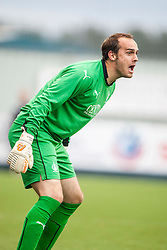 Falkirk's keeper Jamie MacDonald. Falkirk  2 v 2 Rotherham Utd, pre-seaon friendly.<br /> &copy; Michael Schofield.