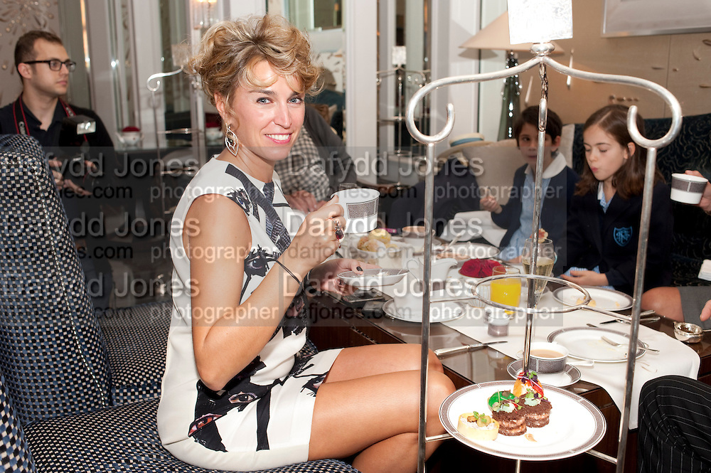 ASSIA WEBSTER, Stephen Webster hosted  the Stephen Webster Bijoux Tea.  Launching the  tea  inspired by StephenÕs most recent fine jewellery collection ÔMurder She WroteÕ whichwas also on display. Langham Hotel. Portland Place. London. 14 September 2011. <br /> <br />  , -DO NOT ARCHIVE-© Copyright Photograph by Dafydd Jones. 248 Clapham Rd. London SW9 0PZ. Tel 0207 820 0771. www.dafjones.com.<br /> ASSIA WEBSTER, Stephen Webster hosted  the Stephen Webster Bijoux Tea.  Launching the  tea  inspired by Stephen's most recent fine jewellery collection 'Murder She Wrote' whichwas also on display. Langham Hotel. Portland Place. London. 14 September 2011. <br /> <br />  , -DO NOT ARCHIVE-© Copyright Photograph by Dafydd Jones. 248 Clapham Rd. London SW9 0PZ. Tel 0207 820 0771. www.dafjones.com.