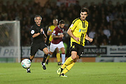 Burton Albion midfielder Scott Fraser (7) during the second round or the Carabao EFL Cup match between Burton Albion and Aston Villa at the Pirelli Stadium, Burton upon Trent, England on 28 August 2018.