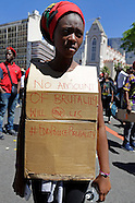 Cape Town - Fees Must Fall Protest - 26 Oct 2016
