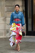 Tina Leung at Schiaparelli SS2015