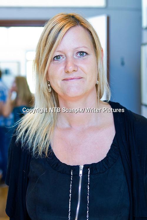 Oslo  20110811. <br /> Den danske forfatteren  av krimboka &acute;Frost og aske&ordf;, Inger Wolf, under h&macr;stlistelansering for Kagge og Stenersens Forlag. <br />  <br /> Foto: Berit Roald / Scanpix<br /> <br /> NTB Scanpix/Writer Pictures<br /> <br /> WORLD RIGHTS, DIRECT SALES ONLY, NO AGENCY
