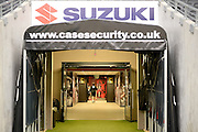 Tunnel shot showing Suzuki  and Case Security branding during the EFL Sky Bet League 1 match between Milton Keynes Dons and Bury at stadium:mk, Milton Keynes, England on 27 September 2016. Photo by Dennis Goodwin.