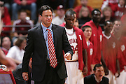 BLOOMINGTON, IN - FEBRUARY 4: Indiana Hoosiers head coach Tom Crean during a game at Assembly Hall on February 4, 2009 in Bloomington, Indiana. (Photo by Joe Robbins)