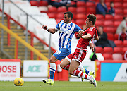 Tomer Hemed during the Pre-Season Friendly match between Aberdeen and Brighton and Hove Albion at Pittodrie Stadium, Aberdeen, Scotland on 26 July 2015.