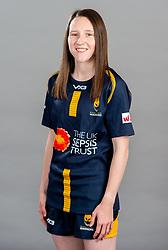 Tara Godby during the Worcester Warriors Women Media Day - Ryan Hiscott/JMP - 28/09/2019 - SPORT - Sixways Stadium - Worcester, England - Worcester Warriors Women Media Day