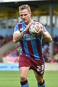 Gary McSheffrey  during the Sky Bet League 1 match between Scunthorpe United and Coventry City at Glanford Park, Scunthorpe, England on 12 September 2015. Photo by Ian Lyall.