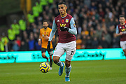 Anwar El Ghazi of Aston Villa during the Premier League match between Wolverhampton Wanderers and Aston Villa at Molineux, Wolverhampton, England on 10 November 2019.
