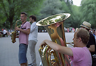 Jazz plaers in Central Park